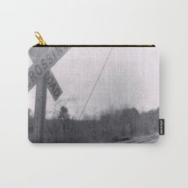 Rail Road Crossing Carry-All Pouch
