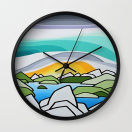 The Lions Wall Clock