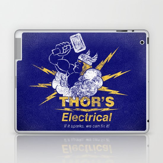 Thor - Thor's Electrical Laptop & iPad Skin