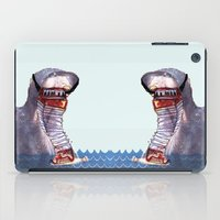 hippo iPad Cases featuring Hippo by MGNFQ