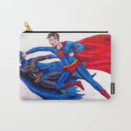 Final Showdown: Superhero Edition Carry-All Pouch