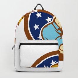 American Handyman USA Flag Icon Backpack