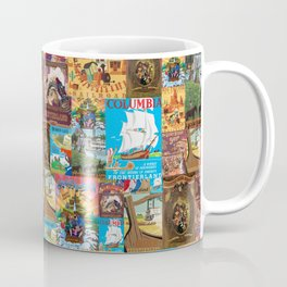 Frontierland Vintage Attraction Posters Coffee Mug