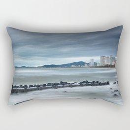 Morning Skyline Nha Trang Vietnam Rectangular Pillow