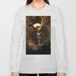 "Odilon Redon ""Spirit of the forest"" Long Sleeve T-shirt"