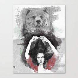 Bear Delux Canvas Print