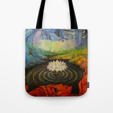 Earth-and-Sky Tote Bag