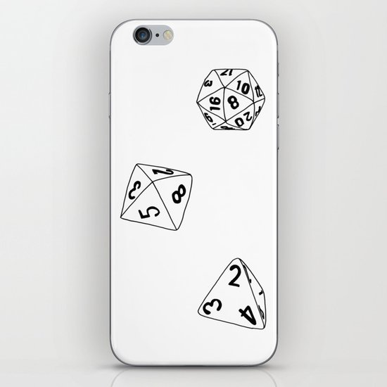 Dungeons and Dragons Dice iPhone & iPod Skin