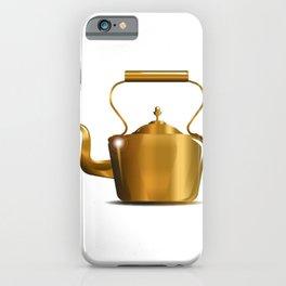 Victorian Copper Kettle iPhone Case