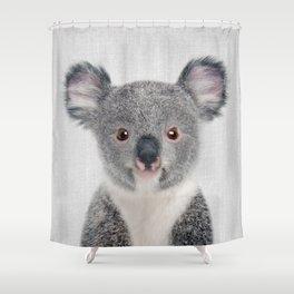 Baby Koala - Colorful Shower Curtain