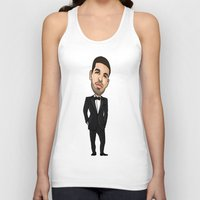 will graham Tank Tops featuring Aubrey Graham by Allyouwant