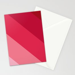 Pink parallels Stationery Cards
