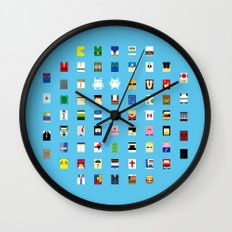 Minimalism beloved Videogame Characters Wall Clock