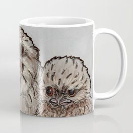 Frogmouth Chicks Coffee Mug