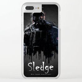 Sledge Clear iPhone Case