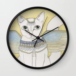Blanka Cat Fairy Wall Clock