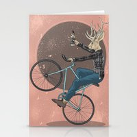 jackalope Stationery Cards featuring Jackalope by Kelli Shaver