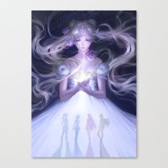 Sailor Moon Serenity Canvas Print