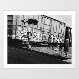 Vandalism 1 Art Print