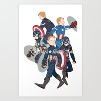 suits Art Prints featuring The suits by Sodam-art