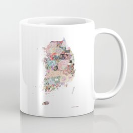 South Korea Coffee Mug