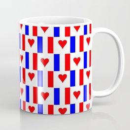 Flag of France 16- France, Français,française, French,romantic,love,gastronomy Coffee Mug