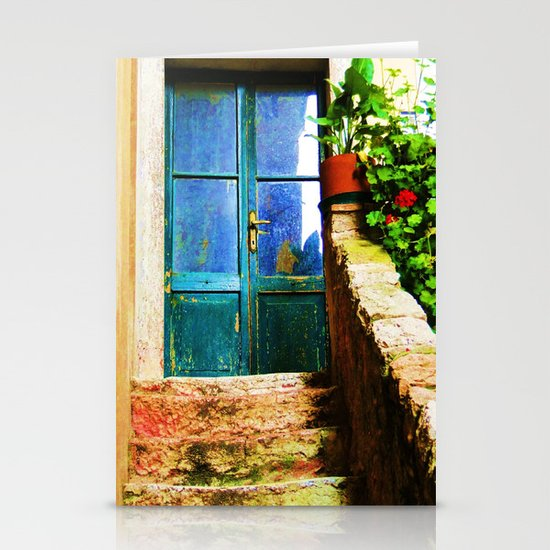 Up Stairs Apartment  Stationery Cards
