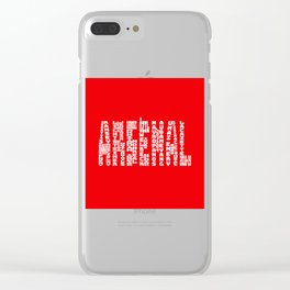 Arsenal 2018 - 2019 Clear iPhone Case