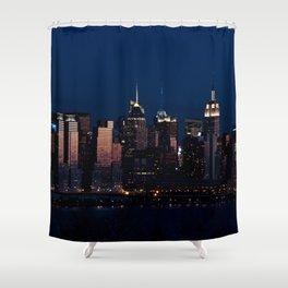 NYC Sunset Shower Curtain