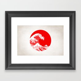 Hokusai great wave of Kanagawa Framed Art Print