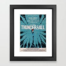 Thunderball Framed Art Print
