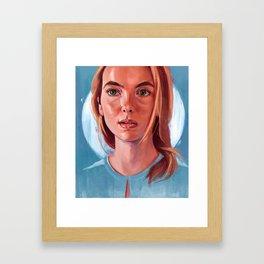 Jodie Comer Framed Art Print