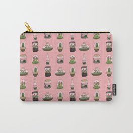Terrarium pattern (Coral) Carry-All Pouch