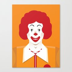 ronald Canvas Print