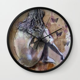 THE POETRY OF NOTHING Wall Clock