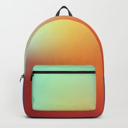 color gradient rainbow colors - abstract background Backpack