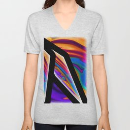 WHOOPS ONE OF THOSE FUNKY NIGHTS Unisex V-Neck