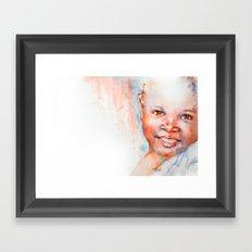 Africa in my Soul Framed Art Print