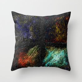 Decomposed Humanity Throw Pillow