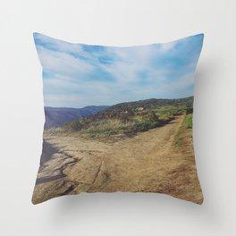 Cross Roads Throw Pillow