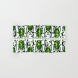Emerald Cicadas Hand & Bath Towel