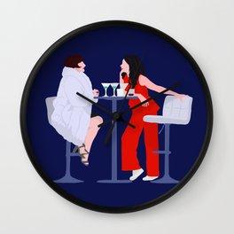 Joanne and Bobbie - Company Musical Wall Clock