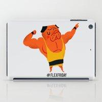 friday iPad Cases featuring Flex Friday by Huebucket