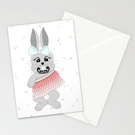 Miss Rapeti (peachy perfect) Stationery Cards