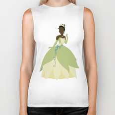 Tiana from Princess and the Frog Biker Tank