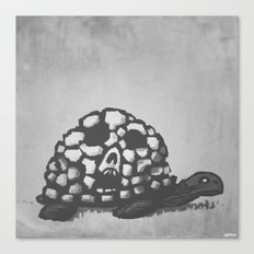 Turtle of Death Canvas Print