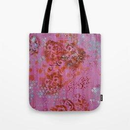 Lakshmi's Footprints Tote Bag