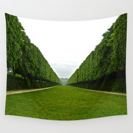 Between The Hedges Wall Tapestry