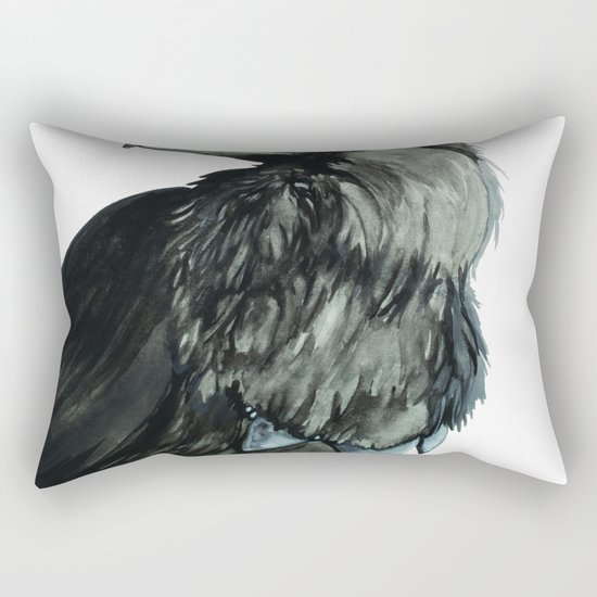 The Raven Rectangular Pillow