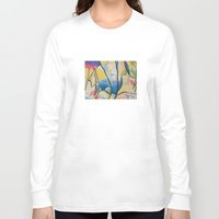 kandinsky Long Sleeve T-shirts featuring Figure Dance by Lindsay Larremore Craige
